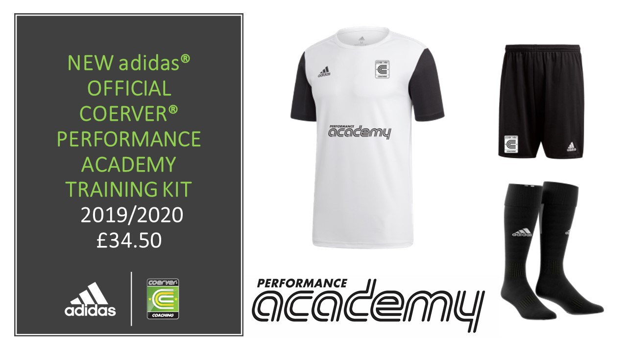 COERVER COACHING SCOTLAND OFFICIAL TRAINING KIT 2019
