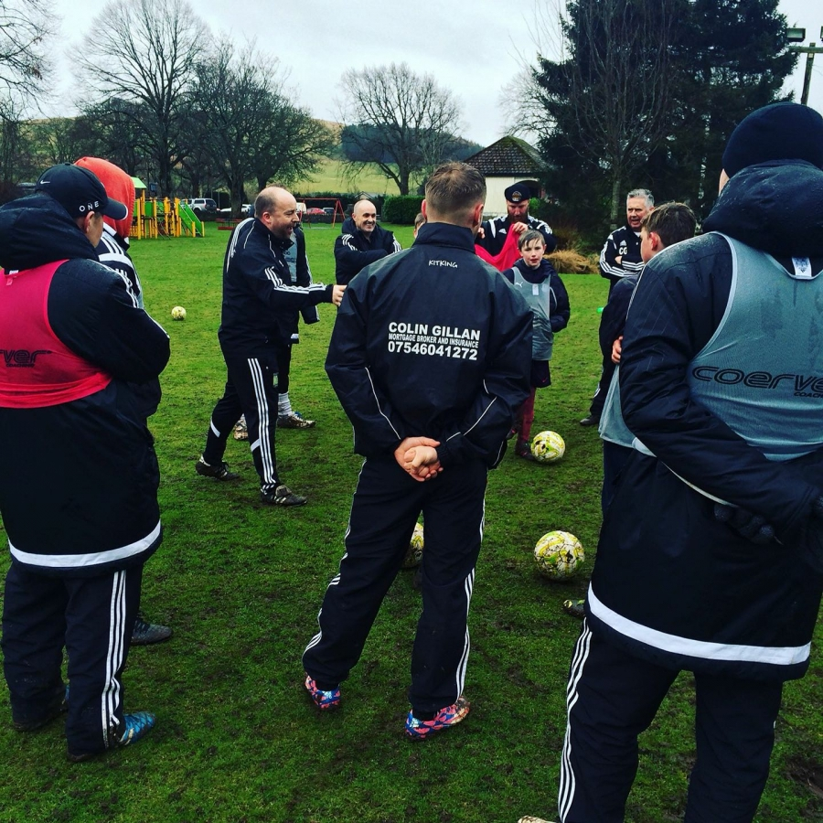 Coerver Youth Diploma 1 at Newtyle United