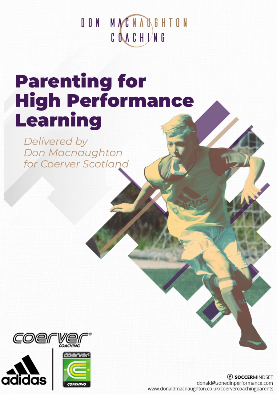 Parenting for High Performance Learning